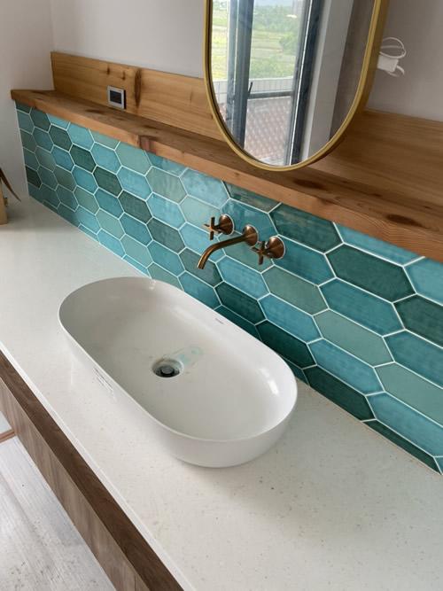 台中市華廈大樓 浴室整修設計