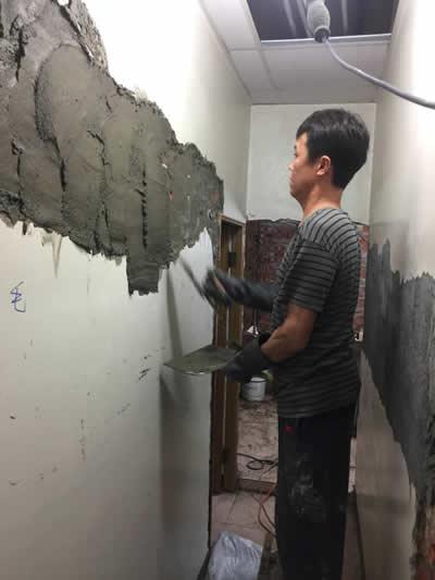 台中黃先生 浴室整修及壁癌處理