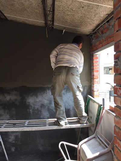 台中蔡先生 蓋新浴室及砌磚