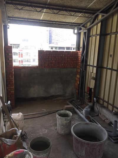 台中蔡先生 浴室自地自建