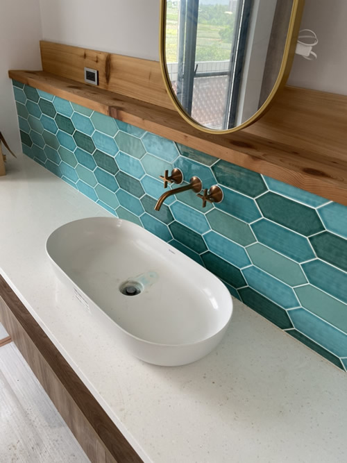 台中市高級住宅 浴室翻新設計