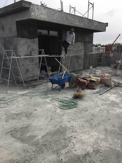 台中吳先生 佛堂裝修及防水工程