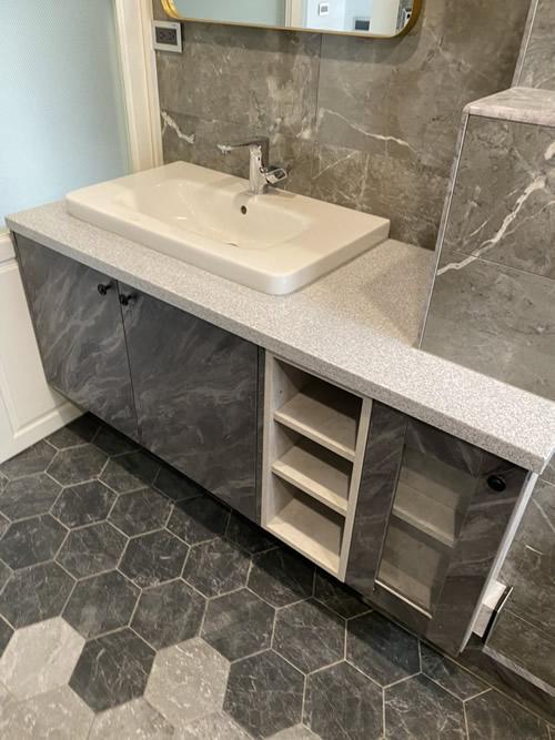 台中市高級住宅 浴室修繕設計